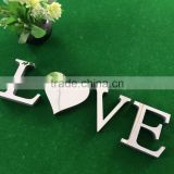 Custom LED clear embossing storefront acrylic lucite alphabet letter signs for company