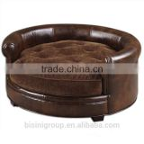 European chair for children with Leather tatami solid wood sofa for furniture living room sofa