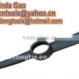 OEM orders top quality cheap drop forged hand tools factory P401 Pick Mattock Pickaxe head