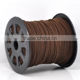 High Quality Jewelry Coffee Velvet Cord for Necklace/Bracelet Making