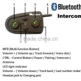 Motorcycle Helmet Bluetooth Handsfree Intercom System Headset