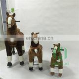 2015 Hot sale mechanical rocking horse for sale, plush horse ride-on for kids, walking pony toy