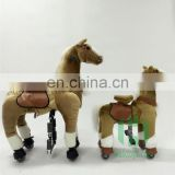 New arrival!!!HI CE walking ride on horse for adult,mechanical ride on horse toy for fun in mall