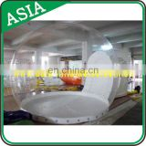 Hot Sale Inflatable Half Transparent Bubble Lodge Tent, Durable Inflatable Bubble Dome Tent for Outdoor Camping