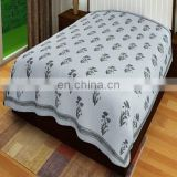 Decorative Kantha bed cover Queen Size Kantha Quilt