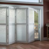 Plantation Pvc Window Shutter Louver For Interior Bedroom