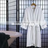 100% cotton hotel bath robe with piping bath robe baby