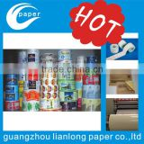 Roll adhesive barcode pvc sticker