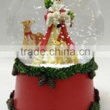 High Quality Polyresin Christmas Snow Globe, Christmas Promotional Gifts