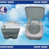 5Gang 12L Portable Toilet Travel Camping Outdoor Indoor Potty Flush Green/For boat for marine for car
