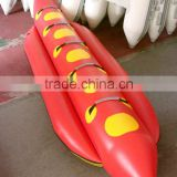 5 persons designed inflatable raft banana raft boat water game and entertainment for sale