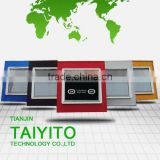 TAIYITO TDXE4404S touch switch with X10 signal /home automation remote control switch/touch screen panel