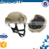 NIJ standard aramid fast style bulletproof helmet made in china