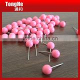 Cute Pink 6mm Ball Head Map Tacks