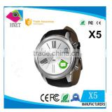 X5 touch screen mobile phone watch android wifi smart watch app