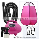 portable spray tanning machine