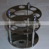 High Quality 3 Layer Circular 304 stainless steel shower enclosure cup holder clip