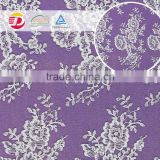 wholesale cheap nylon rayon cotton guipure softextile embroidery lace fabric for accessories
