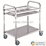 Food Cart Designer/Plastic Food Transport Carts/Mobile Food Service Carts (SY-DCS3 SUNRRY)