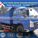FOTON hot sale small dump car garbage sweeper truck