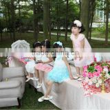 2012 new arrival imported fabric kids dresses for weddings
