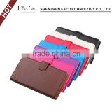 2016 new stylish precision cutting stand wallet pu leather flip case for sony xperia X with OEM/ODM service