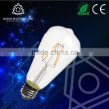 ST64 Vintage carbon filament light bulbs in Edison bulb shape glass ST64 bulb filament light