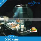 Factory wholesale CE&ROHS bbq grill light bbq light with Heat resistant ABS material