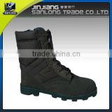 customized black rubber sole army stylish military boot