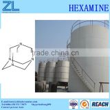Hexamine can be used in Resin