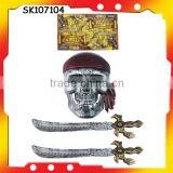 horror pirate sword toy pirate mask with EN71