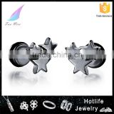 2016 Hotlife wholesale men's accessories latest simple style group star stud earring