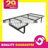 Angle Iron Frame Steel + Mesh Top Cheap Metal Bed Frame Fabrication
