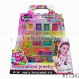 DIY craft toy kids beads bracelet jewelry kit