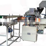 1 Kg Rice in Lined carton packing machine, Rice packing machine, Rice cartons filling & sealing machine.