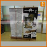 bamboo Pull up banner,fabric Banner Stand,Environment friendly Banner