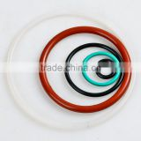 custom made high quality different size different color rubber sealing viton O ring/EPDM O ring/SiliconeO ring/NBR O ring