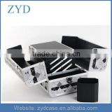 China Supplier Professional Aluminum Nail Polish Carrying Case ZYD-HZ101006
