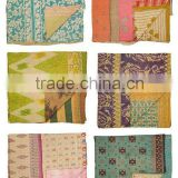 Wholesale Lots of Vintage Kantha Throws Vintage Kantha Quilts Vintage Kantha Rugs~At amazing discounted prices