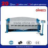 Hydraulic folder bending machine by CE certificate