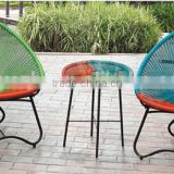 round table and chair set rattan dining set wicker in different color wicker without cushion