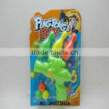 2012 best Christmas present with most fashion design plastic plastic soft bullet gun toy for kids