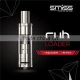 electronic hookah pen Smiss Latest Top Inject Design No Leakage Tank Sub Ohm Atomizer SUB LOADER