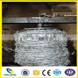 BWG 13*13 13*14 14*14 14*16 Factory custom galvanized /PVC coated /stainless steel barbed wire coil with big discount