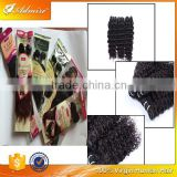 Admire Brand Natural Black Deep Wave Cheap Queen Remy Hair with Tangle and Shedding Free