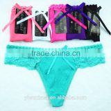 Sexy Ladies Underwear Panties Knickers Gstring Sexy Pack and Lace Thongs                                                                         Quality Choice