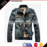 2016 Top OEM newest design fashion cool wholesale high quality mens jeans jacket,coat wear China                                                                         Quality Choice
