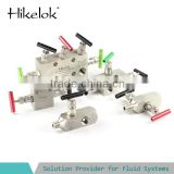 chemistry/water/gas/oil 3/5/2-valve manifolds stainless steel instrument manifolds alloy 20 manifold
