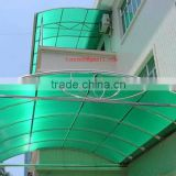 2016 hot sales! Foshan building materials Roofing sheet of uv protection polycarbonate hollow sheet