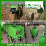 China best supplier CE approved mini round baler /mini hay baler machine /mini mobile baler for sale